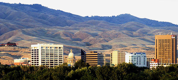 Boise, Idaho, Skyline, summer 1: Strictly copyrighted John Baker Photographer LLC, JayBee Stock.com