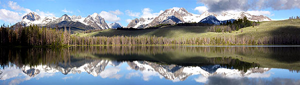 Little Redfish Lake: Strictly copyrighted John Baker Photographer LLC, JayBee Stock.com and JayBee Stock.com