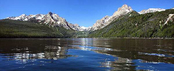 Redfish Lake 2, Idaho: Strictly copyrighted John Baker Photographer LLC, JayBee Stock.com