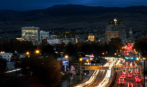 Capitol Boulevard, Boise, Idaho:  Strictly copyrighted John Baker Photographer, JayBee Stock.com
