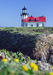 Point Cabrillo lighthouse, Mendocino coast, California - Strictly copyrighted John T. Baker Photographer LLC, JayBee Stock.com