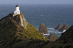 Nugget Point lighthouse, New Zealand - Strictly copyrighted John T. Baker Photographer LLC, JayBee Stock.com