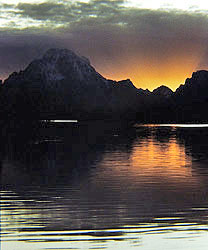 Oxbow Bend at sunset, Grand Teton NP, Wyoming - Strictly copyrighted John T. Baker Photographer LLC, JayBee Stock.com