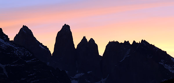 Patgonia: The Towers, Torres del Paine, Chile
