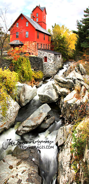 Chittenden Mill, Jericho, Vermont, New England